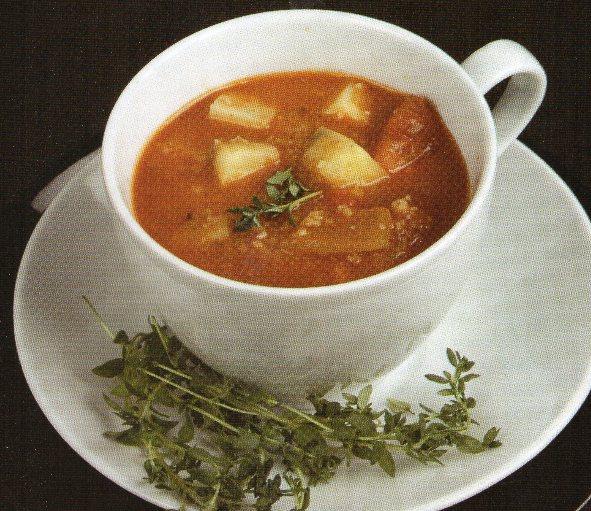 İrmikli Kış Çorbası