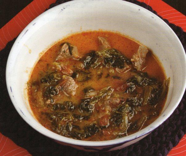 Etli Ispanak Çorbası