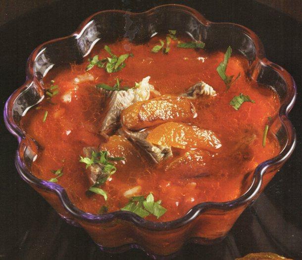 Etli Pirinç Çorbası