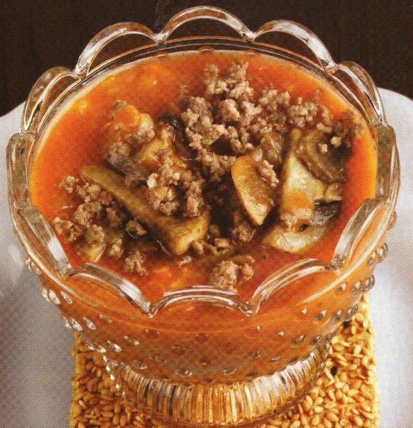 Kıymalı Mantar Çorbası