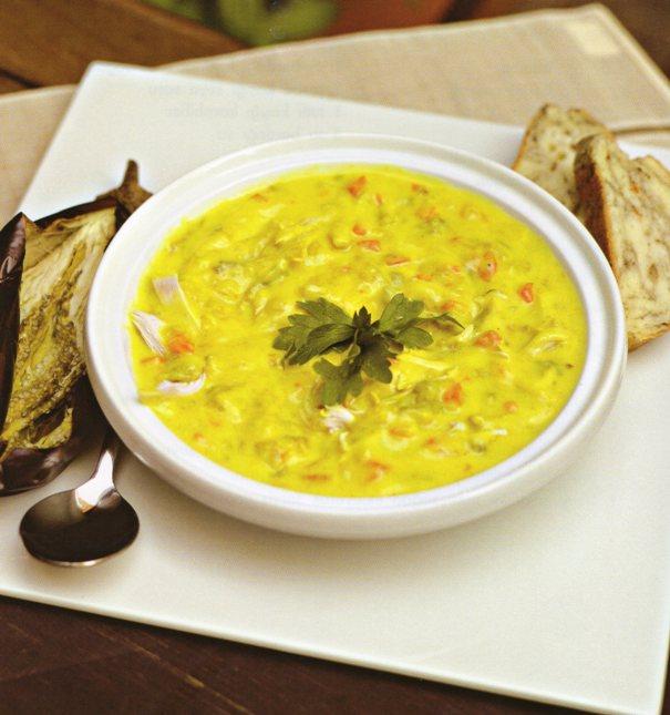 Patlıcanlı Balık Çorbası