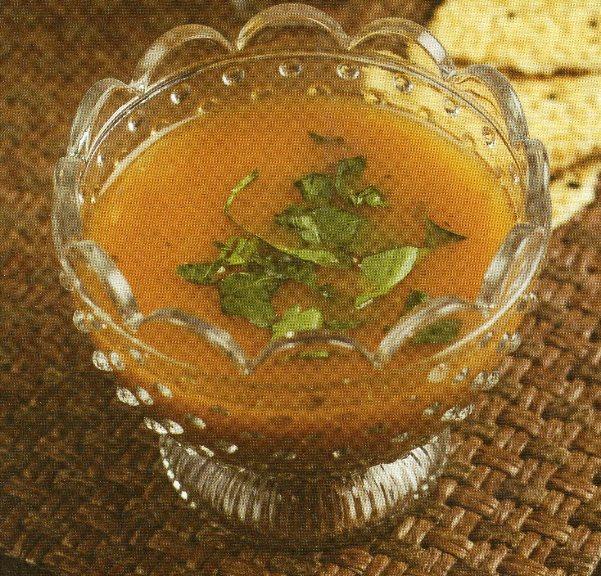 Soya Fasulyesi Çorbası