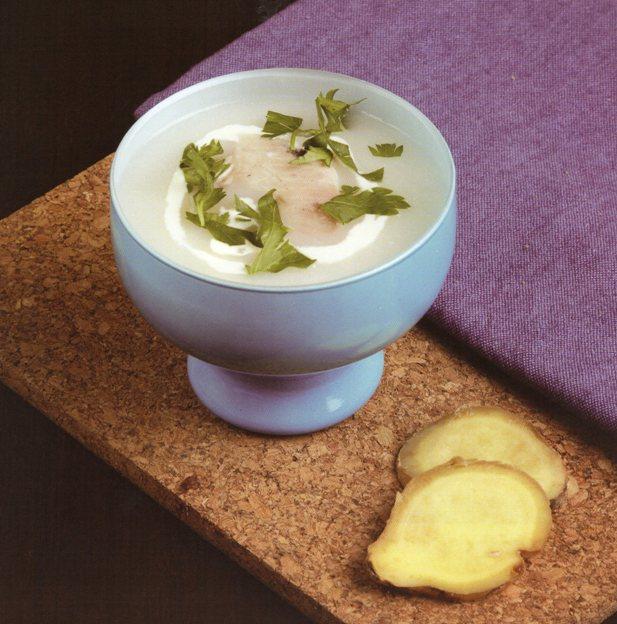 Zencefilli Balık Çorbası