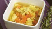 Safranlı Tavuk Çorbası
