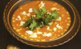 Tavuklu Mısır Çorbası