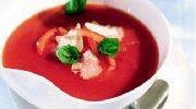 Domatesli Salamlı Mantar Çorbası Tarifi