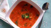 Mercimekli Domates Çorbası Tarifi