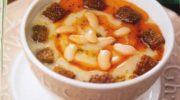 Sütlü Barbunya Çorbası Tarifi