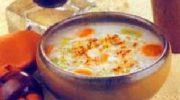 Terbiyeli Kaşar Peynirli Çorba Tarifi