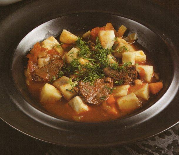 etli kereviz çorbası